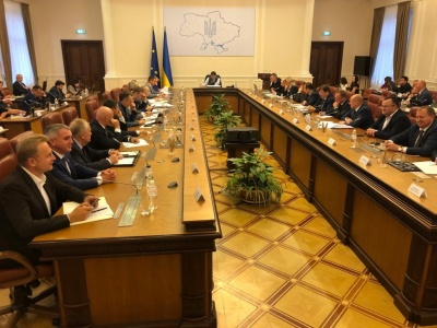 Каспрук бере участь у зустрічі Гончарука з мерами українських міст
