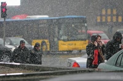 Наступного тижня в Україні очікуються морози та мокрий сніг - синоптик