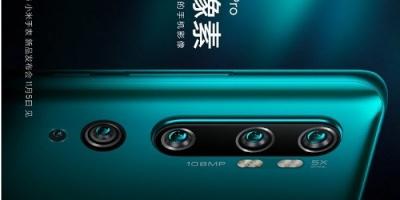 Компанія Xiaomi анонсувала смартфон з камерою на 108 мегапікселів