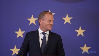Туск: 27 країн ЄС офіційно схвалили відтермінування Brexit