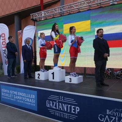Чернівчанка стала чемпіонкою світу з велоспорту