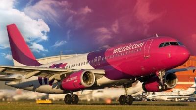 Пасажиропотік Wizz Air в Україні зріс на майже 70%