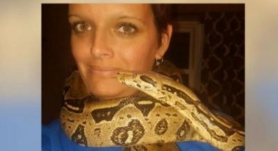 У США любительку розводити змій задушив власний пітон