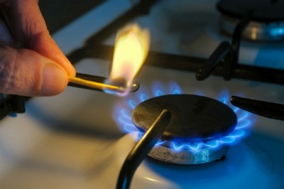 Ціна на газ зменшилася на третину з сім місяців