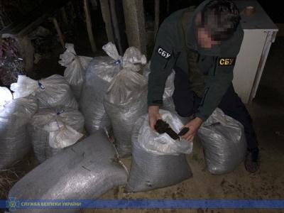 На Буковині СБУ затримала контрабанду бурштину: 270 кг «сонячного» каміння везли у мішках