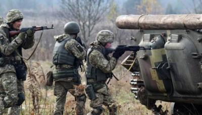 Бойовики обстріляли українські позиції з мінометів. 4 військових поранено