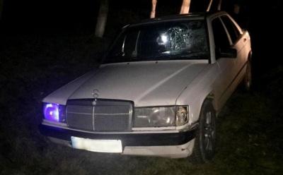 На Буковині Mercedes збив жінку, яка раптово вибігла на дорогу