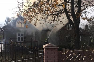 На Буковині у житловому будинку виникла пожежа