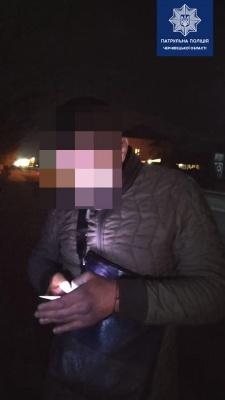 Побив водія і вкрав автівку. У Мамаївцях затримали п'яного зловмисника