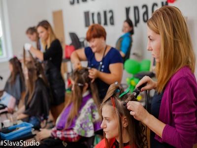 """Хочеш стати класним перукарем - навчайся у кращих. Школа краси """"Slava Studio"""" запрошує на навчання. *"""