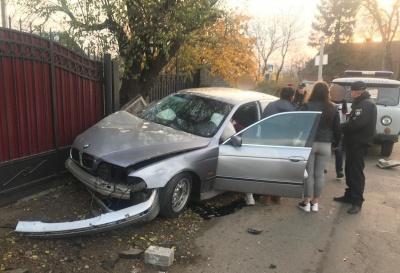 У Чернівцях неповнолітня водійка у стані алкогольного сп'яніння спричинила ДТП