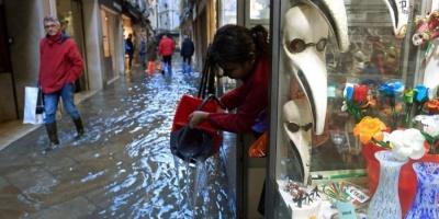 У Венеції ввели надзвичайний стан через рекордну повінь