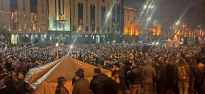 У столиці Грузії розпочалися масові протестні акції