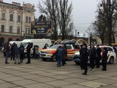 Сьогодні у Чернівцях провели масштабну екшн-акцію