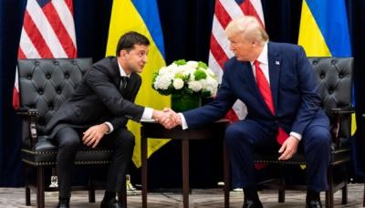Білий дім оприлюднив стенограму першої розмови Трампа й Зеленського