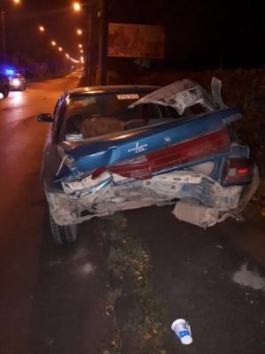 У Чернівцях п'яний водій спричинив ДТП - фото