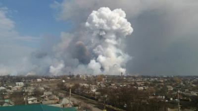 У Генштабі назвали ймовірну причину вибухів у Балаклії