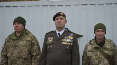 У лікарні помер командир 128-ї бригади, важко поранений на Донбасі