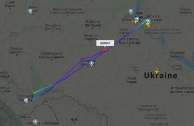 Сильний туман не дозволив літаку з Києва приземлитись у Чернівцях