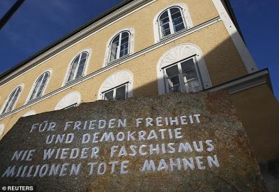 Будинок Гітлера перетворять на поліцейський відділок