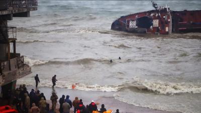 Аварія танкера біля Одеси: забруднення води у 53 рази перевищує норму