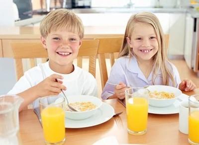 Успішність у школі залежить від регулярного сніданку