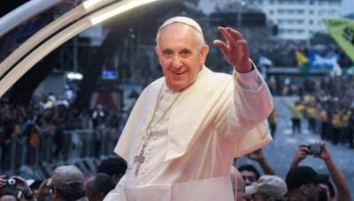 Папа Франциск закликав відмовитися від ядерної зброї