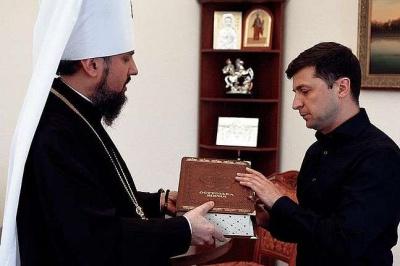 У ПЦУ визнали, що Зеленський не так ставиться до церковного питання, як Порошенко