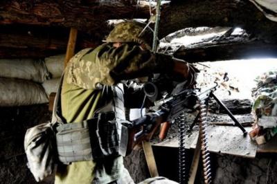 Бойовики в неділю тричі порушили режим тиші на Донбасі