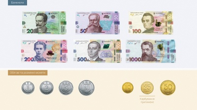 Нацбанк презентував монети номіналом 5 та 10 гривень