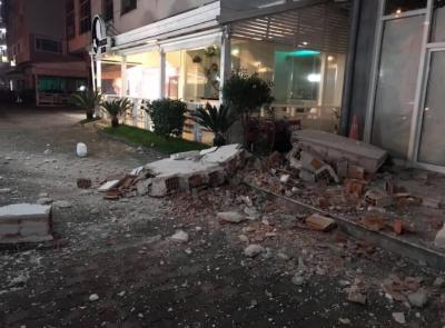 В Албанії стався потужний землетрус магнітудою 6,4 бала