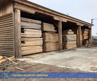 На Буковині СБУ затримала партію дерева на 2,8 млн грн – фото