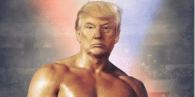 Трамп прифотошопив своє обличчя до тіла боксера: твіт став вірусним