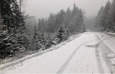 Відсьогодні на Буковині закрили проїзд через гірські перевали
