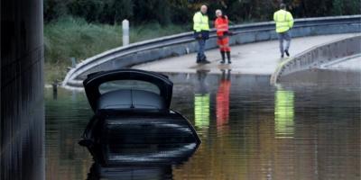 Французька Рив'єра потерпає від злив. Загинули двоє осіб