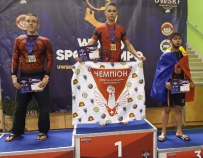 Буковинець став чемпіоном Кубку світу з панкратіону
