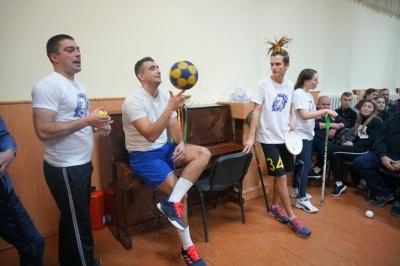 У Чернівцях Олександр Педан представив проєкт з розвитку спорту серед школярів