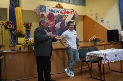 В Черновцах Александр Педан представил проект по развитию спорта среди школьников