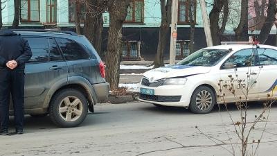 У Чернівцях автівка патрульної поліції потрапила у ДТП