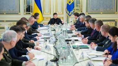 Зеленський проводить закрите засідання РНБО щодо нормандської зустрічі