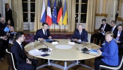 У Парижі розпочалася двостороння зустріч Зеленського та Путіна