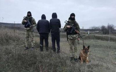 На кордоні затримали двох нелегалів з Грузії та п'ятьох буковинців