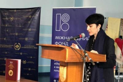 Професорка з Італії, яка досліджує Сковороду, прочитала лекцію в Чернівецькому університеті