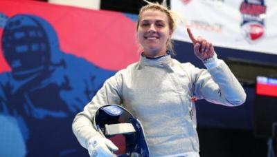 Українська шаблістка виграла етап Кубка світу