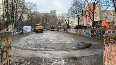 У Чернівцях почали облаштовувати скейт-парк - відео