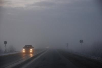 У день Миколая на дорогах Буковини очікується сильний туман