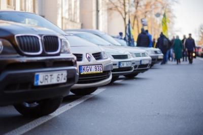 Нардепи відклали запровадження нових штрафів для євроблях