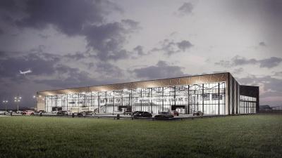 Як може виглядати новий термінал аеропорту «Чернівці»: київська фірма створила проект