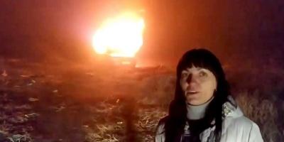 Власниця євробляхи звернулася до Зеленського та спалила своє авто - відео