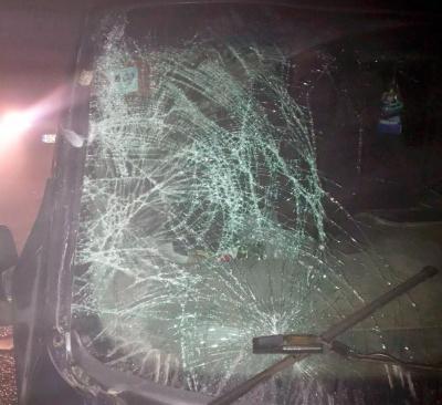 Вночі на Буковині мікроавтобус на смерть переїхав чоловіка